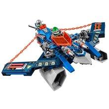 LEPIN Nexo Knights Aaron Foxs Aero Flieger V2 Combination Marvel Building Blocks Kits Toys Minifigures Compatible Legoe Nexus - ZE World store