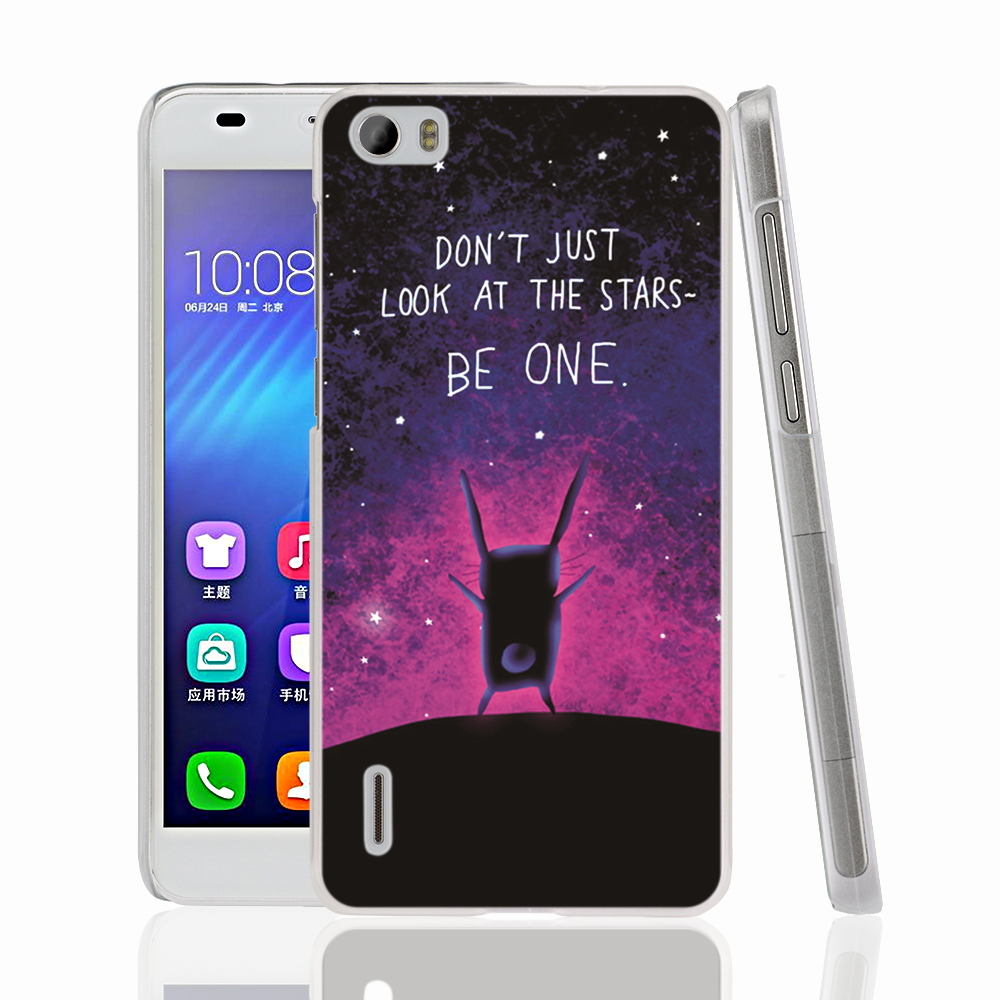 08580 Don t Just Look At The Stars cell phone Cover Case for huawei honor 3C 4A 4X 4C 5X 6 7(China (Mainland))