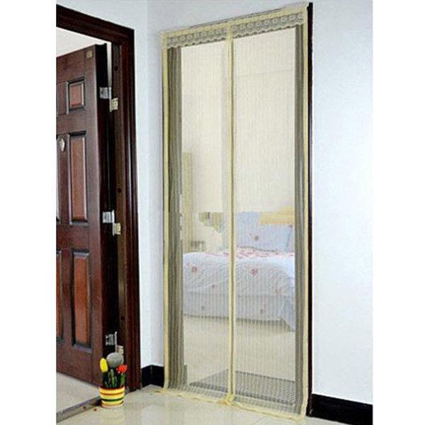 Promoci n de biombo puerta compra biombo puerta for Mosquitera magnetica puerta