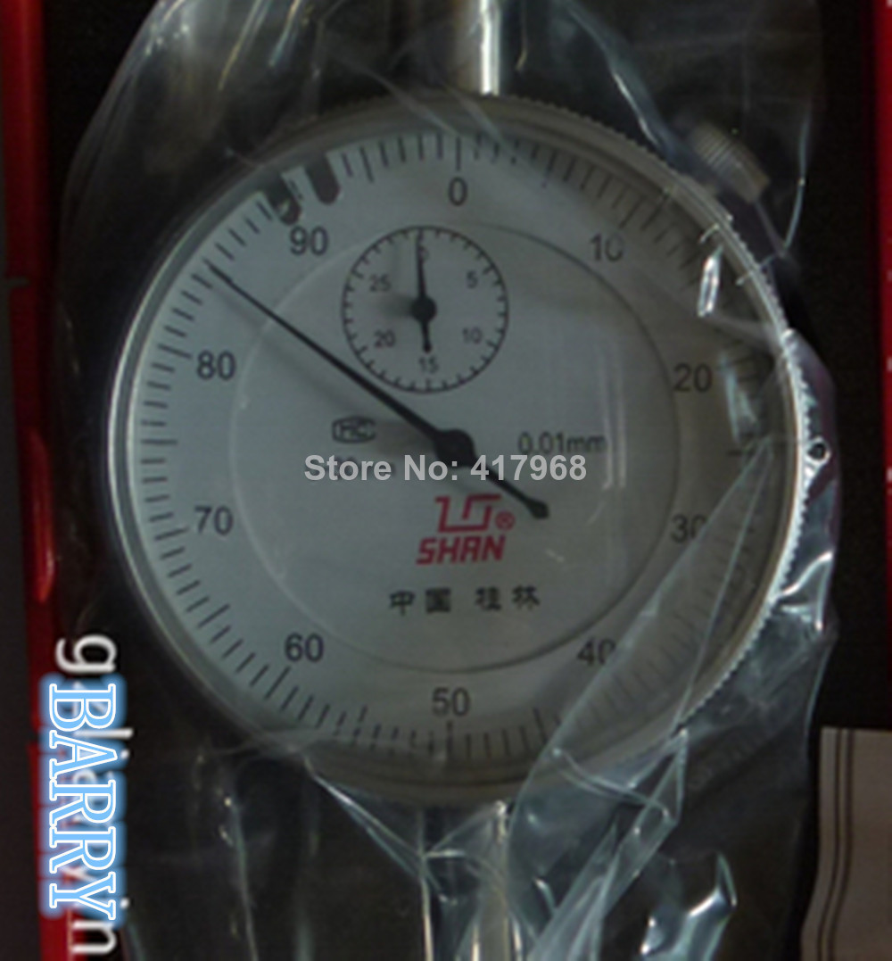 Free shipping +good quality 0.01mm 0-30mm dial indicator + hot selling