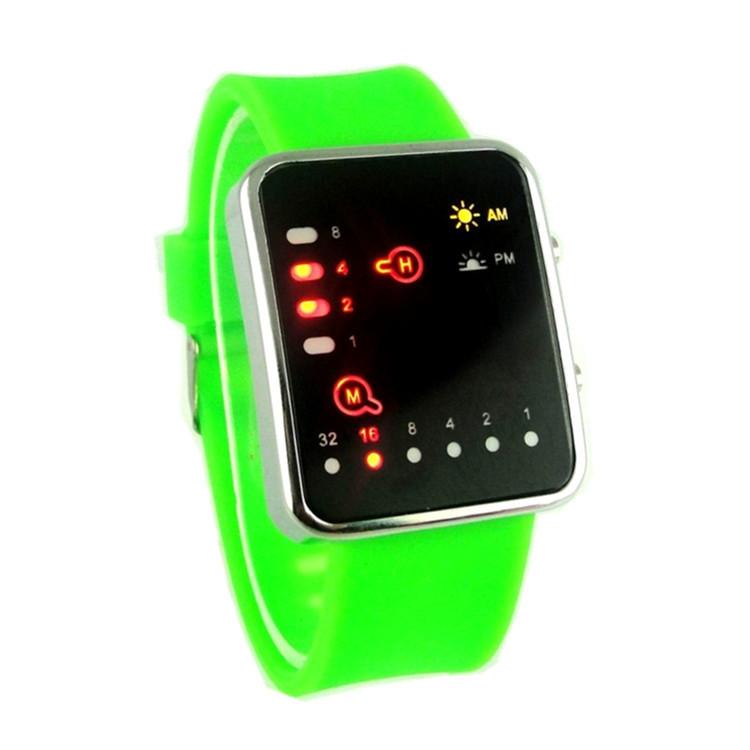 Korean Fashion LED Resistant Water Silicone Strap Man Woman Korea Digital Watch dames horloges relogio montre led femme<br><br>Aliexpress