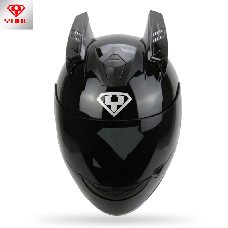 New fashion Personality helmet Ox horns Motorcycle helmet horns Helmet styling horns Suit for ICOM HJC SHARK YOHE966(China (Mainland))