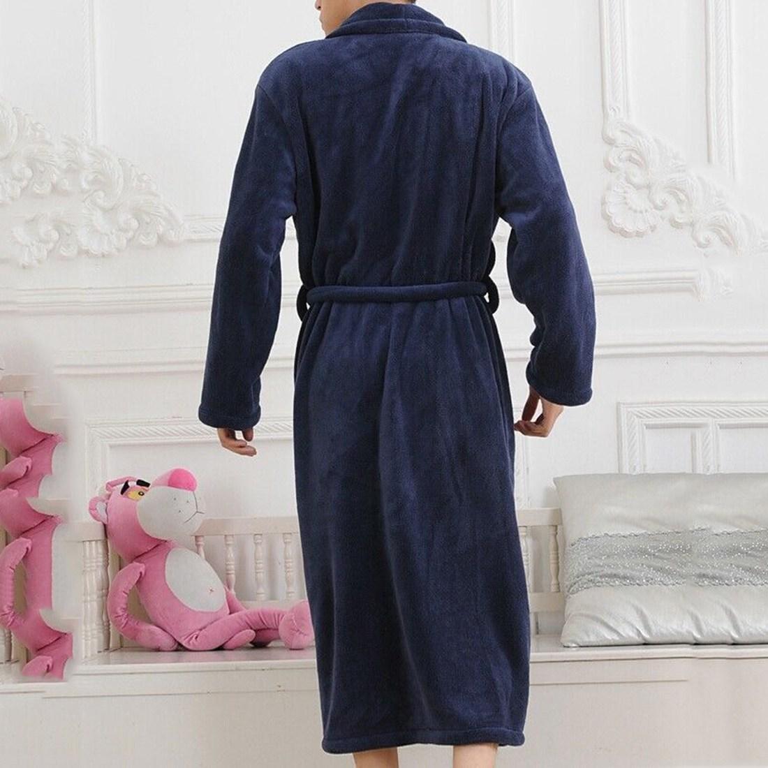 autumn peignoir femme capuche capuche women badjas night robe winter women 39 s long gown. Black Bedroom Furniture Sets. Home Design Ideas