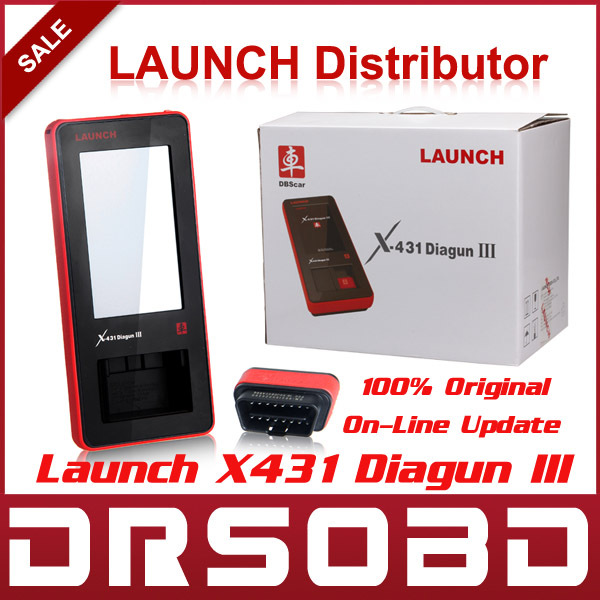 2015 Global Version Launch X431 Diagun III Universal Full System Car Diagnostic Scan Tool Free online Update Launch Diagun 3(China (Mainland))