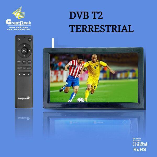 12V DC 9 inch portable TV with built-in tunner DVBT,DVB-T,DVB-T2 transmitter receiver built-in digital TV