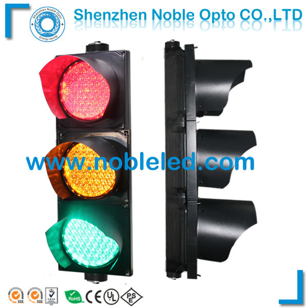 200mm red yellow green traffic signal light with handheld remote control(China (Mainland))