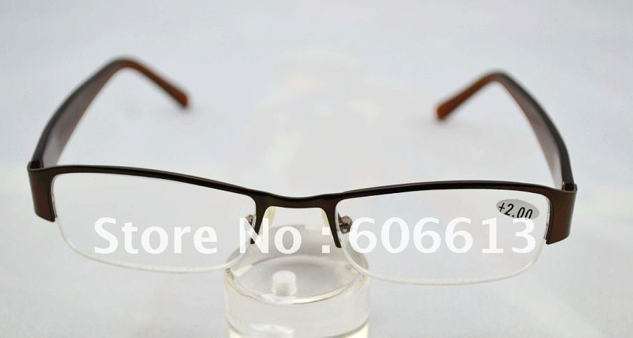 High quality optical reading glasses, alloy frame, glass ...