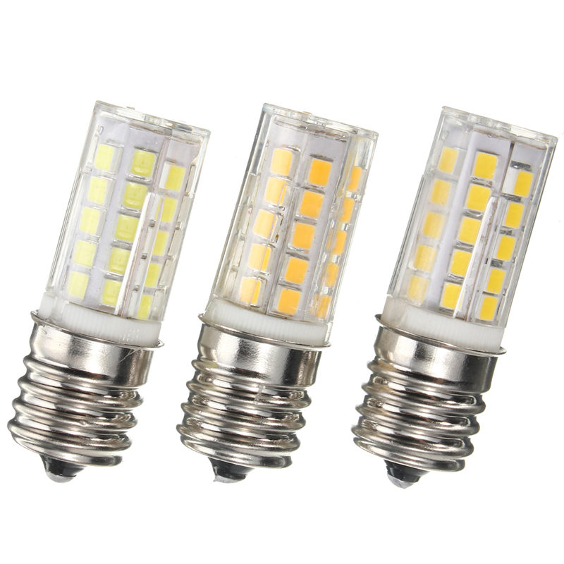 Best Price E17 5W 450LM Non Dimmable Appliance Silicone Crystal LED Lights Bulb Lamp Low Power Consumption 110V(China (Mainland))