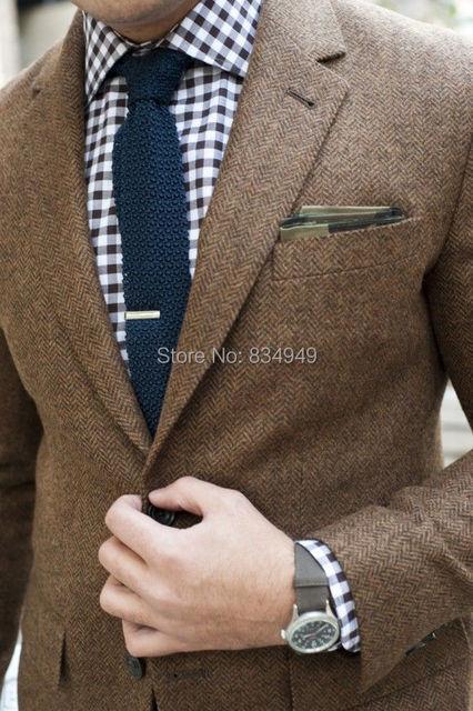 Мужские твидовый пиджак на заказ коричневый твидовый пиджак, Заказ твидовые мужские ...