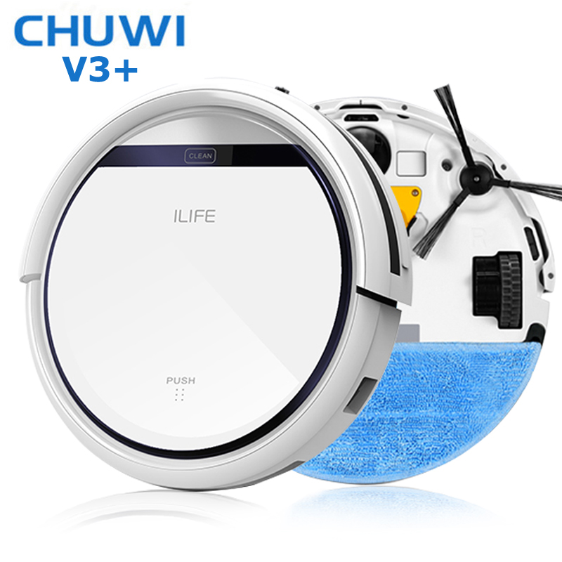 2015 Original New Style Chuwi Ilife V3 Beatles Robot Vacuum Cleaner, Chuwi Cleaner Self charger Smart Dust Cleaner Planned route(China (Mainland))