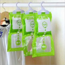 Household Cleaning Tools,Chemicals Be hanging wardrobe closet bathroom,moisture absorbent dehumidizer desiccant Dry bag(China (Mainland))