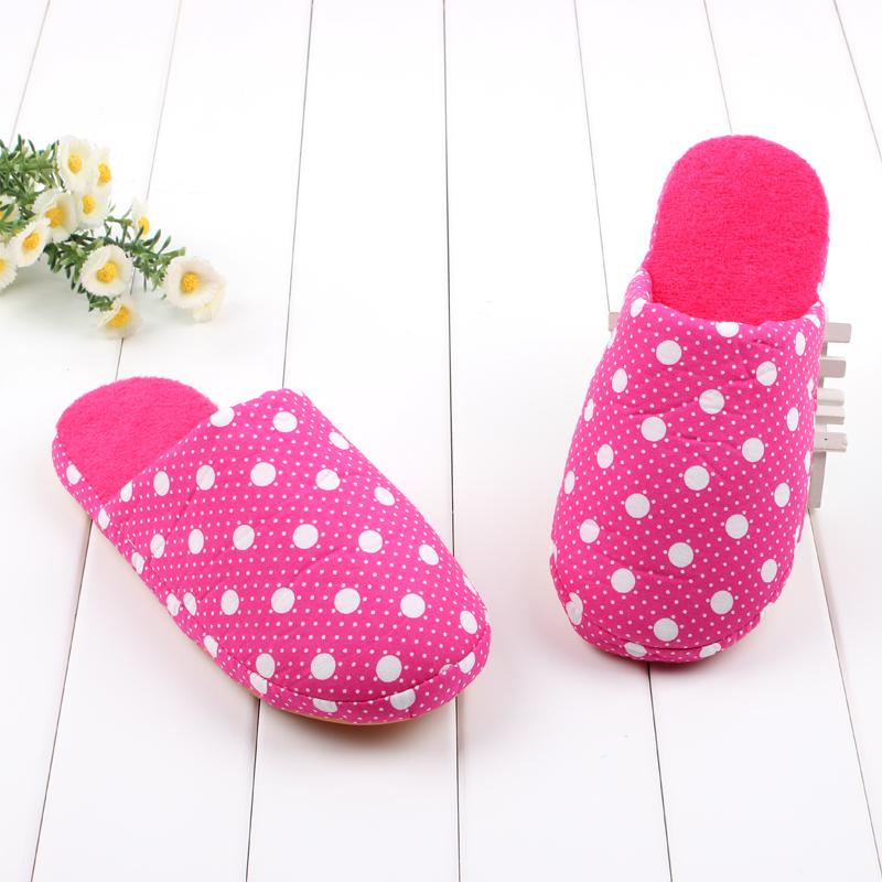 new arrival winter plush slipper cartoon cute cotton padded
