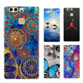 For Huawei Ascend P9 Case Soft Silicone TPU Fashion Perfect Design Pattern Back Cover For Huawei