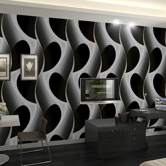Online buy wholesale pvc wallpaper design from china pvc for Cheap designer wallpaper