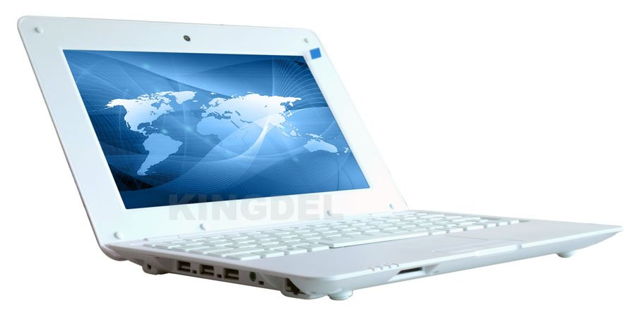 New Arrival Mini 10 inch laptop Notebook Computer Netbook with VIA 8880, 1GB RAM, 8GB Storage, Android 4.2(Hong Kong)