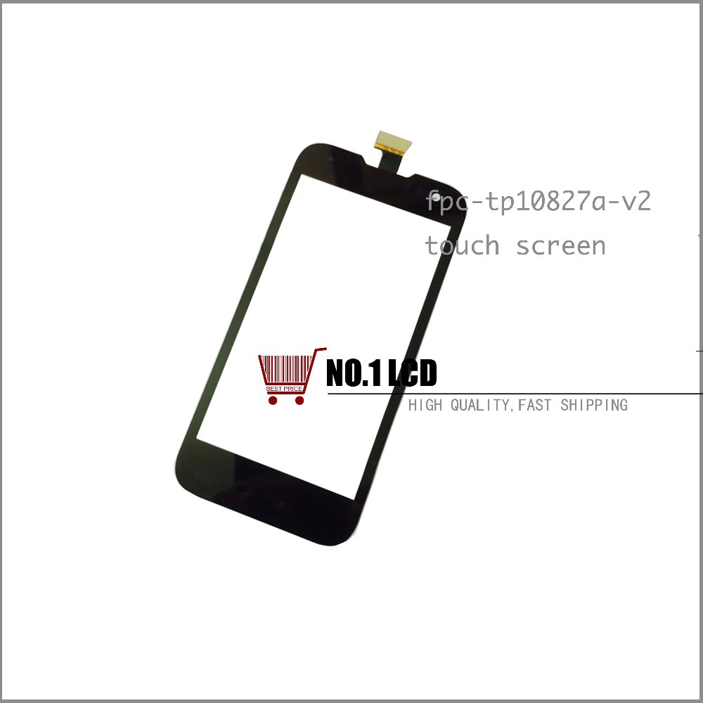 Original digitizer touch screen For Beidou M1 LA-M1 M1-2 front panel lens FPC-TP10827A-V2 Little peppers +tracking NO.(China (Mainland))