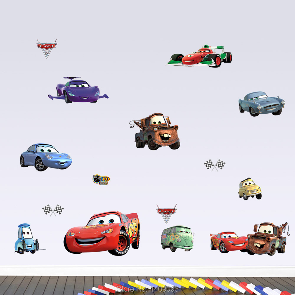 diy cartoon cars 3d wall stickers for kids room removable 3d spiderman wall stickers for kids rooms removable wall