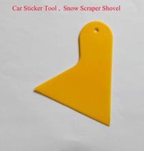 Plastic Snow Scraper shovel, Car sticker Tool, free shipping(China (Mainland))