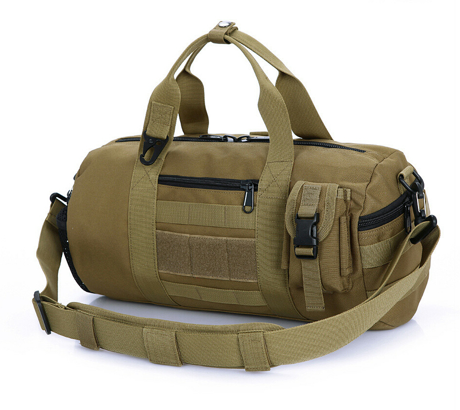 D5 Column men handbag bag duffle bag with MOLLE system outdoor sport bag Free shipping SKU12050341