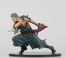 Japanese Anime Figures One Piece Toys 14cm Roronoa Zoro Action Figure Anime Hot Toys Action Figure Collection Models Kids Gifts