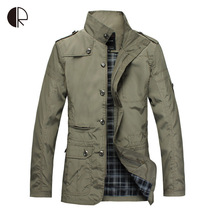 New Arrival Fashion Thin Men Jacket Coat Hot Sell Casual Wear 5XL Korean Comfort Autumn Overcoat Outwear Necessary(China (Mainland))