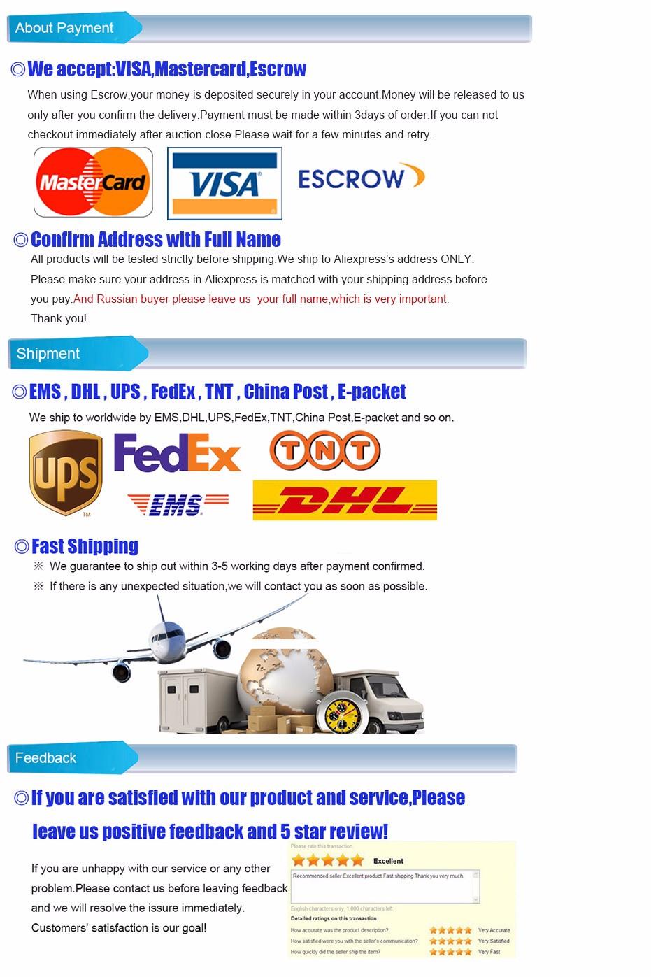 Free shipping 8pcs 1/4