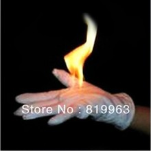 Fire gloves, professional props, hands of light a fire,firemagic,magic tricks,Close-up magic(China (Mainland))