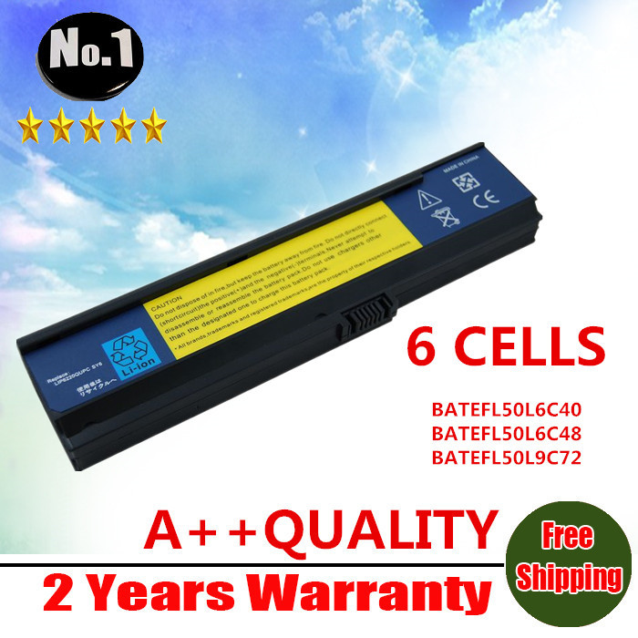 WHOLESALE New 9 Cells laptop battery for Acer Aspire 3030 3610 3600 3680 3050 5050 5570 5580 BATEFL50L6C40 FREE SHIPPING(China (Mainland))