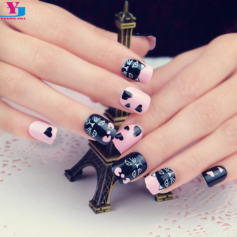 cat fake nails reviews online shopping cat fake nails. Black Bedroom Furniture Sets. Home Design Ideas