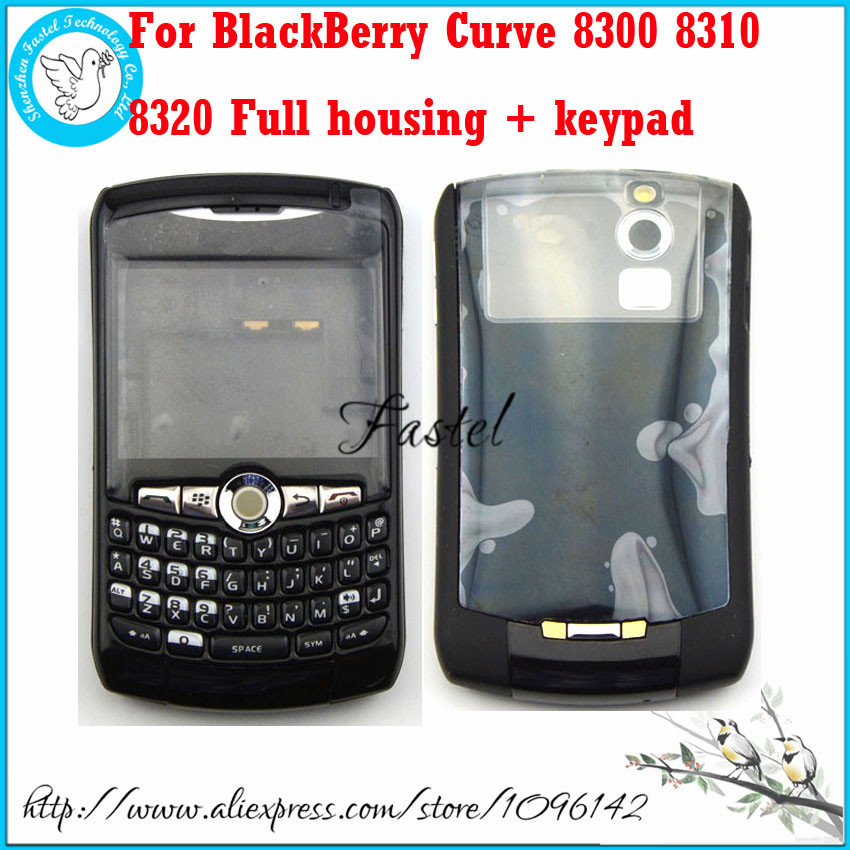 For BlackBerry Curve 8300 8310 8320 Original New Full Complete Housing Cover Case+Keypad(with joystick)+Tools, Free shipping(China (Mainland))