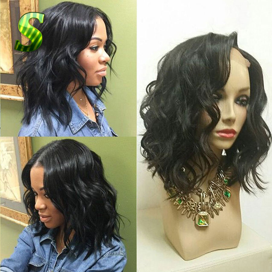 Brazilian Virgin Hair Wig Water Wave Full Lace Human Hair Wigs For Black Women Virgin hair Glueless Full Lace Wig With Baby Hair(China (Mainland))