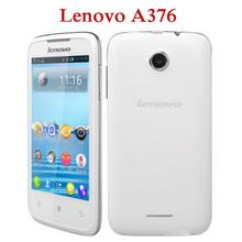 ZK3 Original Lenovo A376 4.0 inch SC8825 Dual core 1GHz 800×480 3.2MP 512MB RAM 4GB ROM Dual SIM Cheap Mobile Smart Phone