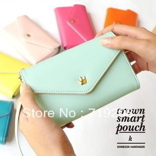 for Candy color bag zipper mouth body retro handbag (p5 2013 envelope