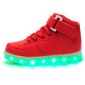 children Led Shoes For girls boys Fashion Light Up Casual kids 7 Colors new simulation sole