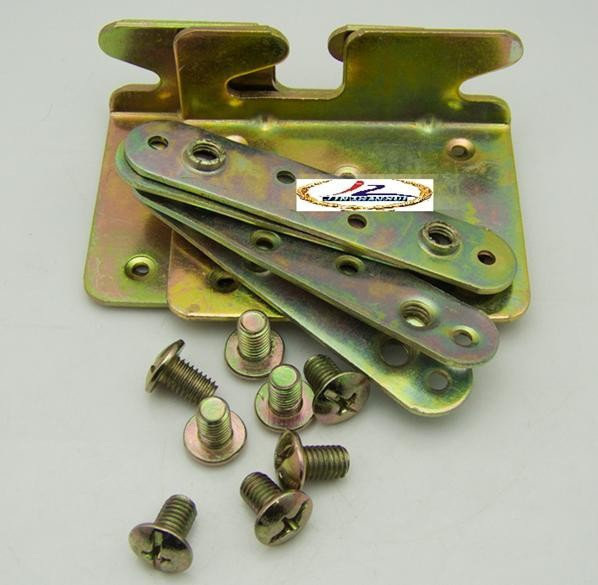 Galvanized Steel Bed Rail Fasteners,Bed hinges,Bed hardware(China (Mainland))