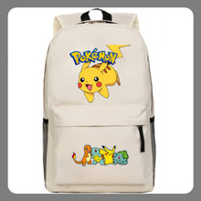 New Anime Pokemon GO Team Backpack School Student Travel Bag knapsack Otaku