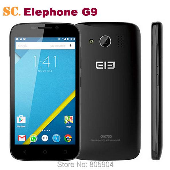 Мобильный телефон Elephone G9 PreAndroid 5.1 G9 4G LTE 4.5 854 x 480 MTK6735M 8.0MP 1 g 8 g elephone r9 цена