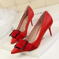 Basic Woman High Heels Pumps Red Female Shoes High Heels 7 5CM Women Shoes Career Office