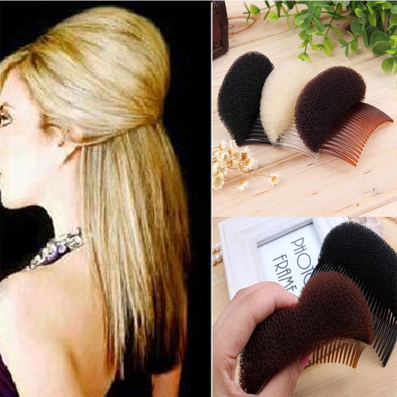 2016 Fashion The Princess Modelling Fluffy Diy Hair Styling Sponge Clip Stick Bun Maker Braid Tool Accessories(China (Mainland))