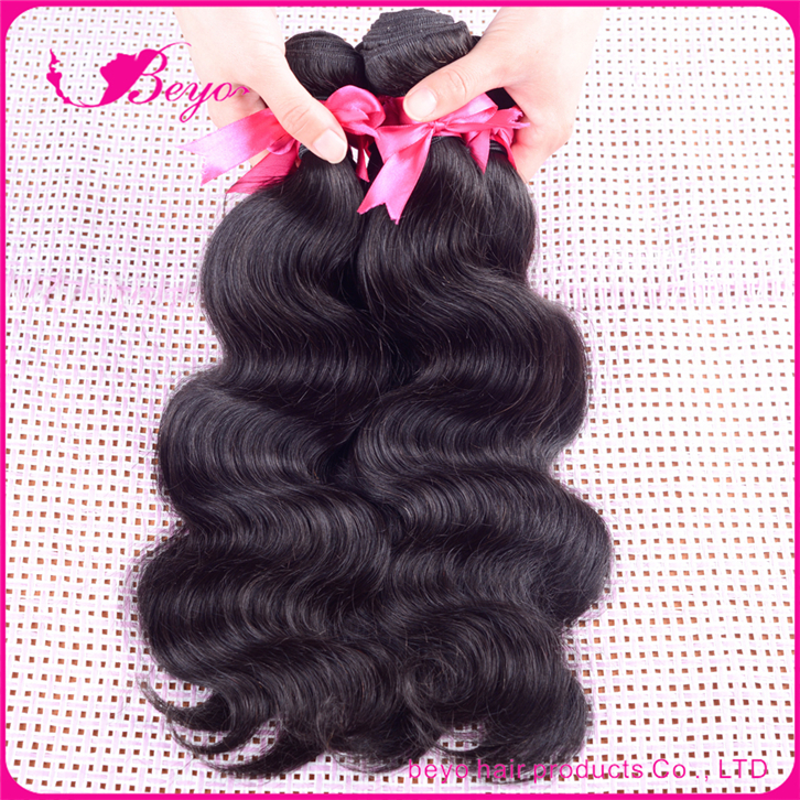 rosa hair products malaysian body wave 6a unprocessed virgin hair malaysian virgin hair 4 bundles human hair weave,no tangle(China (Mainland))