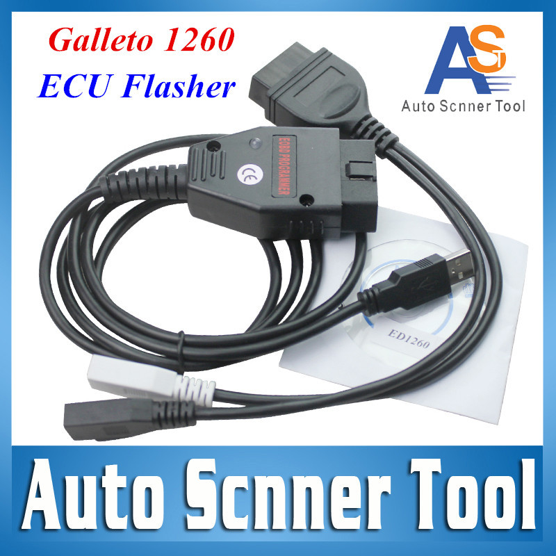 2015 Hot Selling Galletto 1260 ECU Flasher OBDII ECU Chip Tuning Interface EOBD 1260 Programmer Read & Write Car ECU In Stock(China (Mainland))