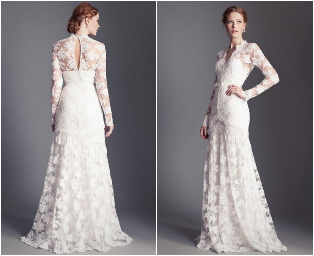 Aliexpress.com : Buy White Lace Wedding Dresses With Full