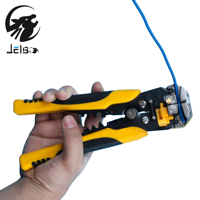 Jelbo Automatic Stripping Pliers Hand Tools Pliers Wire Strip Pliers Cable Wire Stripping Crimping Tools Cutting(China (Mainland))