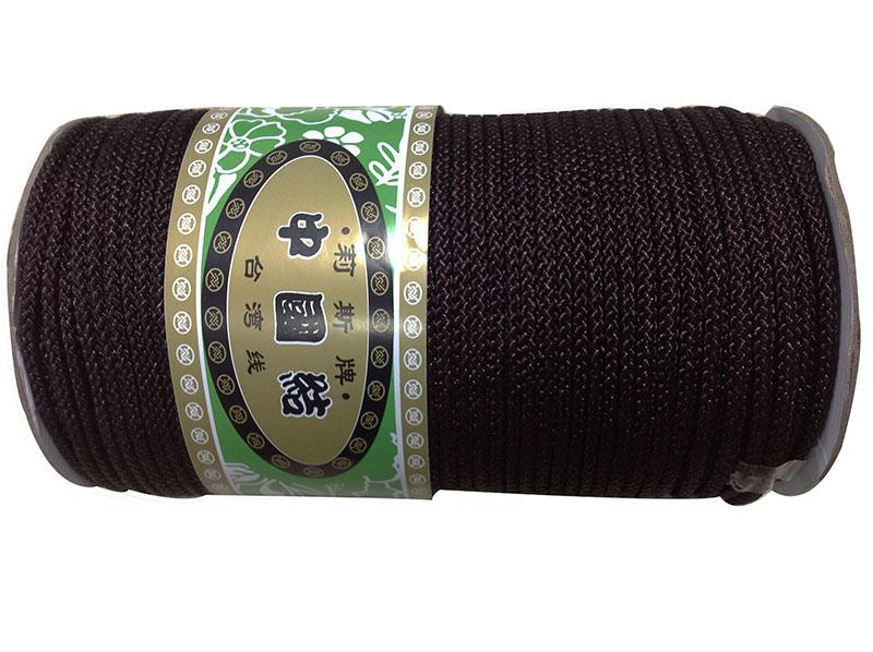 3mm Black Colorfast Rattail Satin Braid Nylon Cord+DIY Jewelry Accessories Macrame Rope Shamballa Bracelet Earring Beading Cords(China (Mainland))