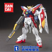 Genuine BANDAI MODEL 1/144 SCALE Gundam models #186522 HG Wing Gundam Zero plastic model kit