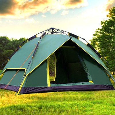 DANCHEL Automatic Tent 3 Person Waterproof Polyester Taffeta Tents Camping Equipment Outdoor Tente Travel <br><br>Aliexpress