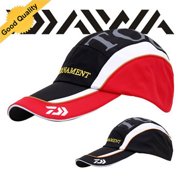 Daiwa Outdoor breathable fishing hat 2016 Hot Selling Fashion Camping Hiking Hunting Fishing Outdoor suitable Men Women