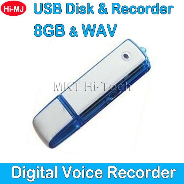 2015 Professional USB Flash Drive Digital Voice Recorder 8GB Hidden Mini Dictaphone 150 Hours Audio Recording Pen WAV Format(China (Mainland))
