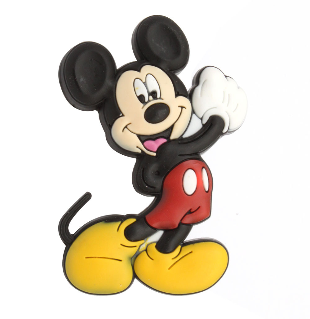 Soft Gum Kindergarten Lovely Drawer Knob Cute Mickey Cartoon Kids Furniture Cabinet Drawer Pull knobs &amp; Handle<br><br>Aliexpress