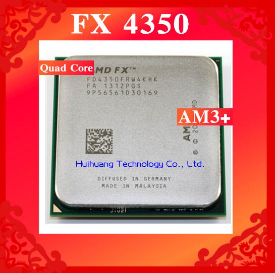 FX 4350 4.2GHz 8M Quad Core desktop processors CPU Socket AM3+ Computer Four nuclear Original authentic bulldozer(China (Mainland))